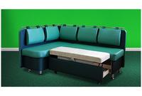 Угловой диван для кухни со спальным местом